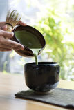 Japanese Matcha Tranditional Culture Concept Stock Photography
