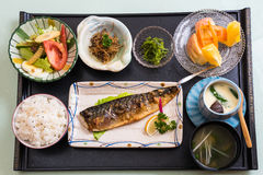 Japanese Meal Royalty Free Stock Images