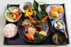 Japanese Meal Stock Photo