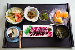 Japanese meal Stock Images