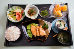 Japanese meal Stock Image