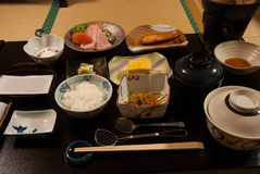 Japanese meal Royalty Free Stock Photography