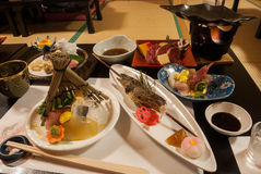 Japanese meal Stock Photography