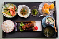 Japanese meal Stock Photos