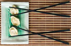 Japanese meat dumpling Stock Images
