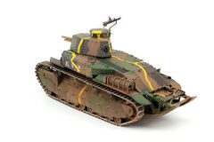 Japanese medium tank Type-89 Stock Photo