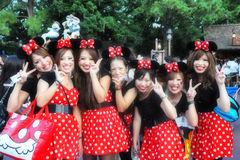 Japanese Micky Girl Royalty Free Stock Images