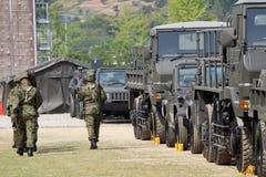 Japanese military base Stock Images