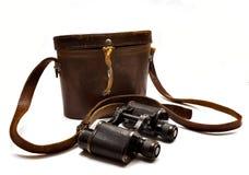 Japanese military binoculars Stock Photo