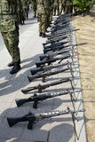 Japanese military rifle Stock Photos