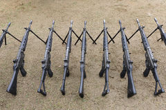 Japanese military rifle Royalty Free Stock Photo