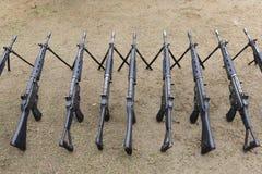 Japanese military rifle Royalty Free Stock Photo