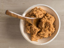 Japanese miso paste stock photography