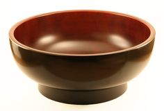 Japanese Miso / Salad Bowl Royalty Free Stock Images