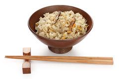 japanese mixed rice , japanese food Royalty Free Stock Photos