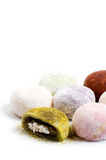Japanese mochi Stock Photography