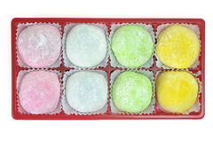 Japanese Mochi Stock Photo
