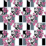 Japanese modern pattern Royalty Free Stock Photo