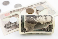 Japanese Money Royalty Free Stock Images