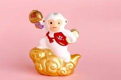 Japanese Monkey Ornament Stock Image