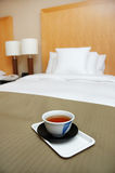 Japanese Morning Tea. Morning Tea to be serve on bed in your room royalty free stock images