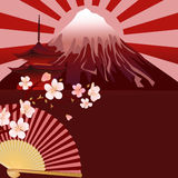 Japanese motifs Royalty Free Stock Images