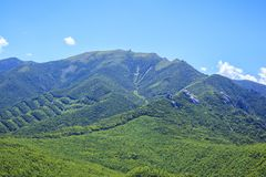 Japanese Mountain Stock Photography