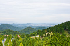 Japanese mountain scape Royalty Free Stock Photos