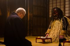 Japanese Namahage Festival and initiation. Royalty Free Stock Image