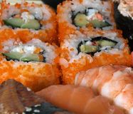 Japanese national meal royalty free stock photography