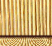 Japanese natural bamboo interior background Stock Image