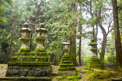 Japanese nature temple Stock Photos