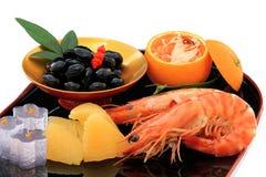 Japanese New Year Celebration food Stock Image
