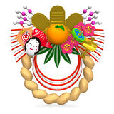 Japanese New Year Decoration Stock Photos