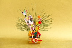 Japanese New Year decoration Royalty Free Stock Image