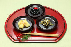 Japanese new year festive food, osechi ryori Stock Photo