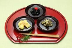 Japanese new year festive food, osechi ryori Stock Photo