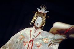 JAPANESE NOH THEATRE Royalty Free Stock Photos