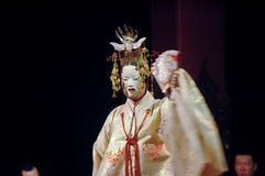 JAPANESE NOH THEATRE Royalty Free Stock Photo