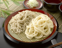 Japanese noodle Stock Photos