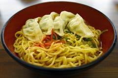 Japanese noodle Stock Image