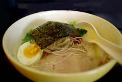 Japanese noodle ramen Royalty Free Stock Photography