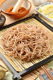 Japanese noodle - soba Royalty Free Stock Image