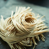 Japanese noodle soba Stock Photography