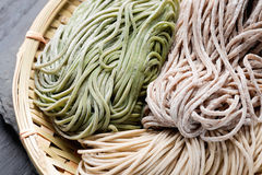Japanese noodle soba Royalty Free Stock Image