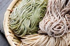 Japanese noodle soba Royalty Free Stock Image
