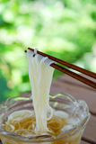 Japanese noodle somen Royalty Free Stock Photography