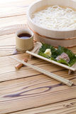 Japanese noodle 'Udon' Stock Photography