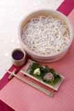 Japanese noodle 'Udon' stock images