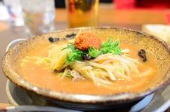 Japanese noodle royalty free stock photo